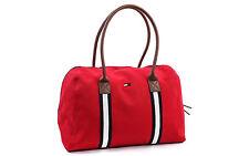 Tommy Hilfiger  Damen Tasche Shopper Handtasche Zip Tote Bag red new