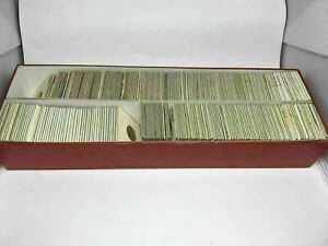 K) Vintage 200+ Foreign Coins Collection 1949-1978 Germany, Canada, England