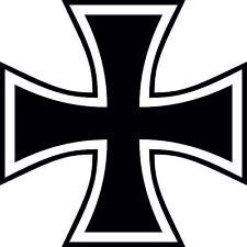 Aufkleber Eisernes Kreuz Autoaufkleber Sticker