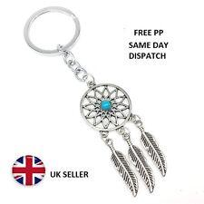 Dreamcatcher keyring key ~ chain bag charm keyfob bag purse Dream Catcher silver