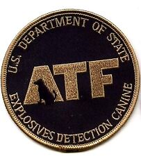 JSOC GREEN BERETS BATTLE TESTED ATF EXPOSIVES DETECTION EOD TEAM INISGNIA: K-9