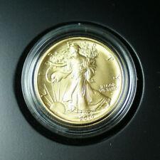 2016-W Walking Liberty Half Dollar Centennial 1/2 Oz Gold Coin in Box w/ COA