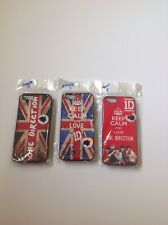 **One Direction** boy band * iPhone* ((5)) phone cases, lot of 3, British, skins
