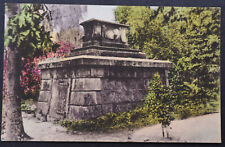 Old American Postcard ~ Mausoleum , Middleton Place Gardens, Charlestown  SC