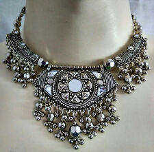 Tribal Boho Ethnic Vintage Necklace Belly Dance Fashion Jewelry Afghan Gypsy ATS