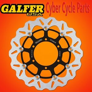 Galfer Front Floating Wave Rotor For '08-'17 Suzuki GSXR 750 DF358CW