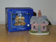 """Lincolnshire Collection - Polyresin Cottages - 3"""" x 2.75"""" x 2.25"""" - Used/Vgc"""