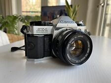 Beautiful Canon AE1 Program 35mm Camera with Canon FD 50mm lens