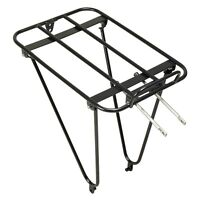 Gamoh King Rear Bicycle Rack - Wide Load Area - Steel - High Japanese Quality