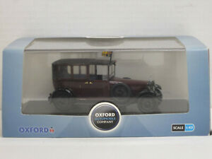 Daimler 1929 King George V (Sandringham) in braunrot/schwarz, OVP, Oxford, 1:43