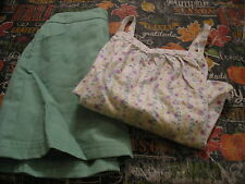 New Bitty Baby Blossom Top And Skirt For Girls - Size Medium 4/5 Nwts
