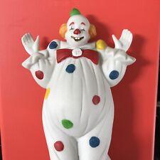 New ListingVintage Flambro 1985 Clown Figurine Circus World Museum Grotesque Make-up #19
