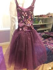 BEAUTIFUL BALLET COSTUME Girls Size 12/14