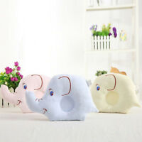 Cute Pillow Soft Cotton Prevent Flat Head Anti-Roll Neck Support For Infant Baby