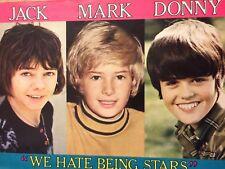 Donny Osmond, Osmonds Brothers, Jack Wild, Mark Lester, Full Page Vintage Pinup