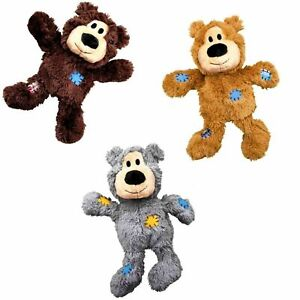KONG WILD KNOTS BEAR ALL VERSIONS MEDIUM/LARGE BRAND NEW ONLY £8.99 FREE POST.