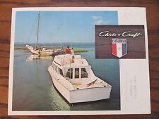 Chris Craft  Vintage 1970 s Catalina Sport Boat Brochure  Catalog
