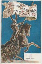 ITALIA 1900 DIREZIONE COMMISSARIATO -VIII CORPO D'ARMATA