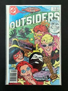 ADVENTURES OF THE OUTSIDERS #38 DC COMICS 1986 NM NEWSSTAND EDITION BATMAN AND