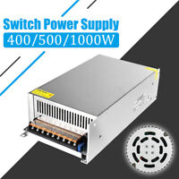 1000W AC 110V-240V To DC 36/48V LED Power Supply Driver Adapter With Switch