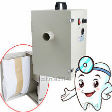 110V/220V Dental lab vacuum Dust Collector collecting Cleaner suction equipment