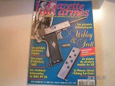 **b Gazette des armes n°390 Pistolet de cavalerie An XIII / Mauser Chinois
