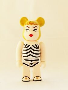 New MEDICOM Toy 100% Bearbrick Series 21 Cute Barbie