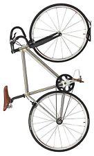 Ibera soporte vertical de gancho para bicicleta negro