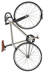 Ibera Soporte vertical de gancho para bicicleta plateado. Envíos desde España