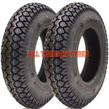 PAIR OF 3.50-8 High Speed Trailer Tyres For Erde & Daxara 350-8 350 8 4 Ply 46M