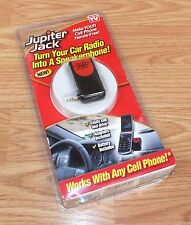"""Jupiter Jack Speakerphone """"As Seen on TV"""" Make Your Cell Phone Hands-Free *READ*"""