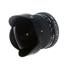 8mm F/3.5 HD Ultra Wide Angle Fisheye Lens for Canon Rebel T6i T5i T3i 60D 5DII