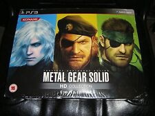 Metal Gear Solid HD Collection Limited Edition Zavvi PS3 NEW UK Exclusive