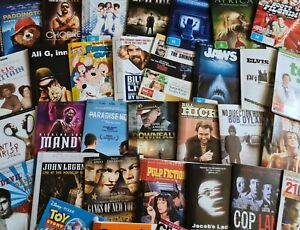 Choose any 10 DVD Bulk LOT - movie - documentary - stand-up - music - TV series