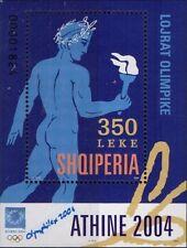Albania 2004. OLYMPIC GAMES Athens Greece 2004. Block 152. MNH