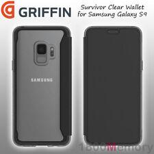 Griffin Case for Samsung Galaxy S9 Survivor Clear Card ID Slot Black TA44241