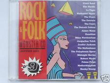 ROCK & FOLK  MONSTER CD  VOL.9, 20 TITRES, TRES BON ETAT