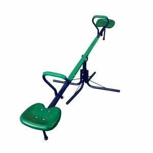 Metal Seesaw For Kids Outdoor Child 360-Degree Spinning Play Set Playground New