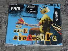 Future sound of London (FSOL):  We Have Explosive (Remixes)  CD Single  NM