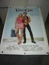 VALLEY GIRL/ORIG. U.S. ONE SHEET MOVIE POSTER (NICOLAS CAGE)
