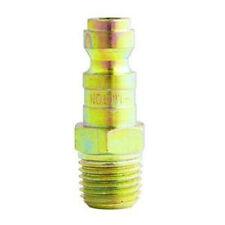 "Milton S783 1/4"" T-Style Male Plug, 2/pack"