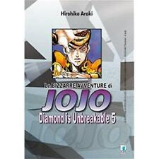 LE BIZZARRE AVVENTURE DI JOJO - DIAMOND IS UNBREAKABLE 5 DI 12 STAR COMICS NUOVO
