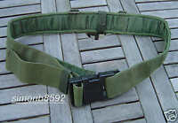 BRITISH ARMY SURPLUS ISSUE 60mm OLIVE GREEN PLCE WEBBING BELT GRADE 1,ITW NEXUS