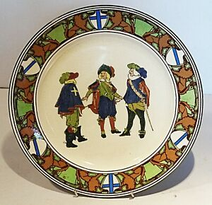 Royal Doulton Series ware Plate - New Cavaliers