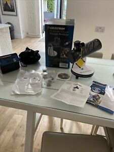 Celestron FirstScope 76mm Dobsonian Reflector Telescope Some Eyepieces Missing