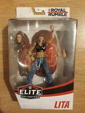 WWE Lita Royal Rumble Elite Mattel Wrestling Figure - New