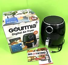 Gourmia 5 Qt/4.7L Capacity Digital Air Fryer Less Fat Model: GAF575 #U1656