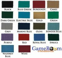 New Worsted Pool Table Cloth for 9ft Table - High Speed Billiard Cloth Felt