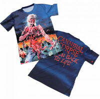 New Cannibal Corpse Eaten Back to Life Jumbo Print Polyester Shirt badhabitmerch
