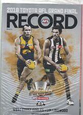 2006 AFL Grand Final Football Record West Coast Eagles V Sydney Swans Mcg